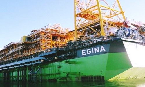 Total S.A. commences production at the giant Egina field